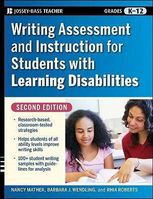 Writing Assessment And Instruction For Students With Learning