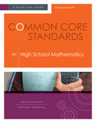 Common Core Standards for High School Mathematics: