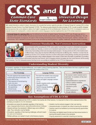 CCSS and UDL Guide