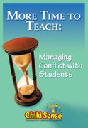 More Time to Teach: Managing Conflicts with Students