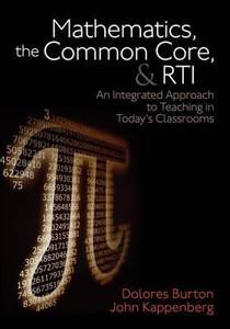 Mathematics, The Common Core and RTI
