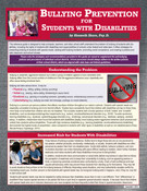 Bullying Prevention for Students with Disabilities Cover