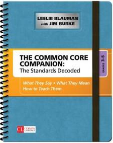 The Common Core Companion Grades 3-5