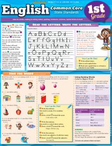 English Common Core State Standards, 1st Grade