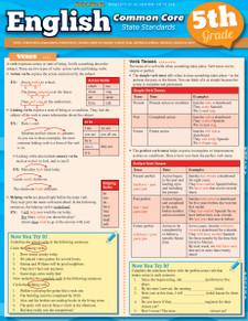 English Common Core State Standards, 5th Grade