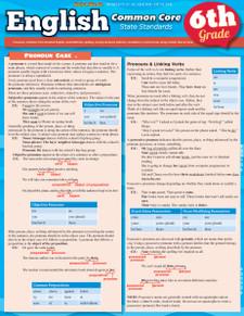 English Common Core State Standards, 6th Grade