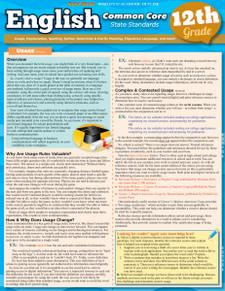 English Common Core State Standards, 12th Grade