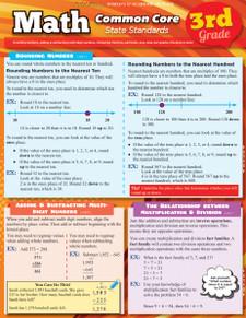 Math Common Core State Standards: 3rd Grade