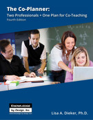 The Co-Planner: Two Professionals + One Plan for Co-Teaching