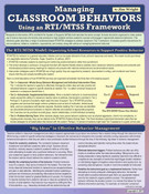 Managing Classroom Behaviors Using an RTI/MTSS Framework