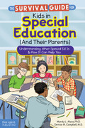 Survival Guide for Kids in Special Education (And Their Parents) cover