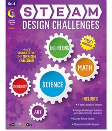 STEAM Design Challenges, Grade 4 (STE4)