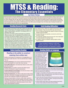 MTSS & Reading: The Elementary Essentials