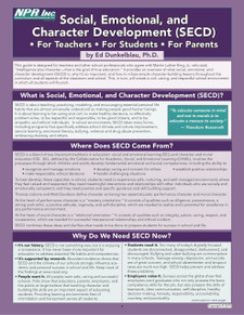 Social, Emotional, and Character Development: (SECD2)