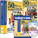 50 Ways to Close the Achievement Gap Multimedia Kit (D50W)