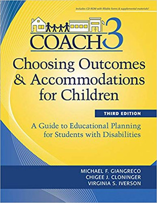 Choosing Outcomes & Accommodations for Children
