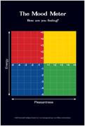The Mood Meter Magnet (Grades 3-12), Set of 10