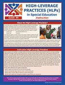 High-Leverage Practices (HLPs) in Special Education: Guide #4 - Instruction