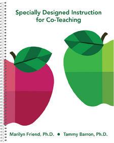 Specially Designed Instruction for Co-Teaching