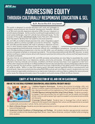 Addressing Equity Through Culturally Responsive Education & SEL