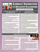 Literacy Instruction for Inclusive Classrooms