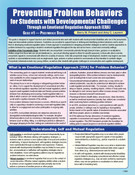 Preventing Problem Behaviors for Student with Developmental Challenges Through an Emotional Regulation Approach (ERA), Guide 1