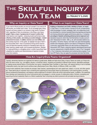 The Skillful Inquiry/Data Team
