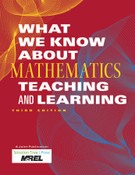 What We Know About Mathematics Teaching and Learning (3rd ed.)