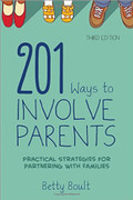 201 Ways to Involve Parents, 3rd edition - cover