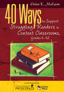 40 Ways to Support Struggling Readers in Content Classrooms