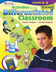 Activities for the Differentiated Classroom: Science, Grades 6-8