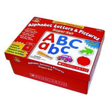 Alphabet Letters and Pictures, Super Set