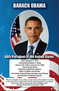 Branches of United States Government Poster Set, President Obama