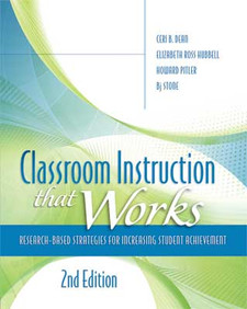 Classroom Instruction That Works, 2nd ed.