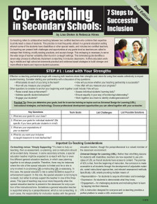 Co-Teaching in Secondary Schools