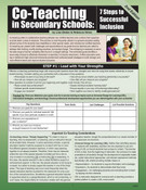 Co-Teaching in Secondary Schools: 7 Steps to Successful Inclusion, 2nd Edition