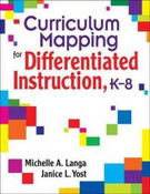 Curriculum Mapping for Differentiated Instruction (K-8)