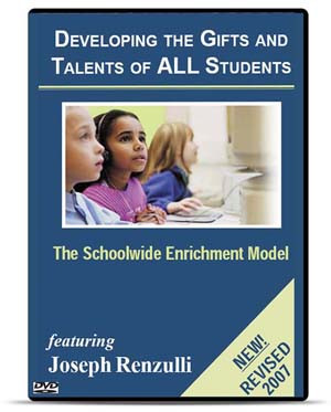 Schoolwide Enrichment Model DVD
