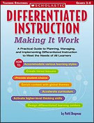 Differentiated Instruction - Making It Work: