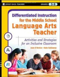Differentiated Instruction for the Middle School Language Arts Teacher: