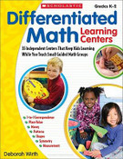 Differentiated Math Learning Centers: