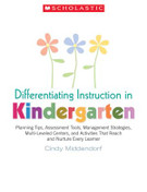Differentiating Instruction in Kindergarten: