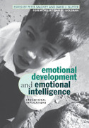 Emotional Development and Emotional Intelligence