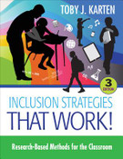 Inclusion Strategies that Work! Research-Based Methods