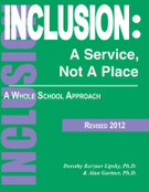 Inclusion: A Service, Not a Place - A Whole School Approach (Rev. 2012)