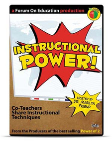 Instructional Power! Co-Teachers Share Instructional Techniques