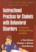 Instructional Practices for Students with Behavioral Disorders: