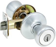 Kwikset 400T Entry Knob Dull Chrome