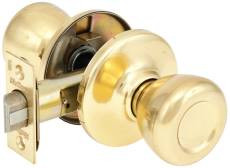 Kwikset 200T3 Passage Knob Bright Brass