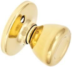 Kwikset 488T3 Dummy Knob Bright Brass